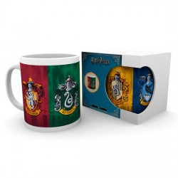 Taza All Crests Harry Potter