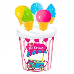 Cubo playa Ice Cream