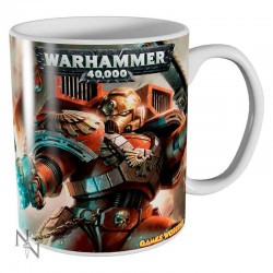 Taza Blood Angels Warhammer 40,000 ceramica
